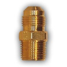 1/4 inch flare x 1/8 male MPT Pipe Adapter Brass Fitting Connector NPT water