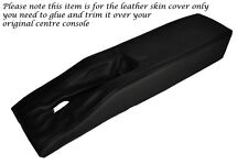 BLACK STITCH CENTRE CONSOLE TUNNEL LEATHER SKIN COVER FITS CORVETTE C3 77-82