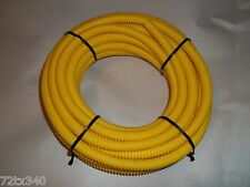 Vintage Snowmobile Ski-doo Blizzard Olympic Elan TNT YELLOW FUEL LINE 3/8 cover