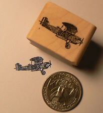 P24 Miniature airplane  Rubber stamp