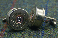 Shotgun Shell Cartridge Cap Cufflinks Clay and Game Shooting Super Gift 006