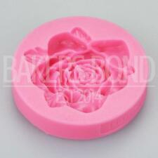 Romantic Rose Silicone Mould Flower Chocolate Cake Baking Icing Wedding Floral