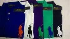 RALPH LAUREN  CUSTOM FIT BIG PONY POLO FOR MEN -NEW WITH TAGS-LOT OF 5-SIZE XL