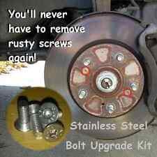 4X Brake Disc Retaining Bolt Screw Stainless Steel Set Mini One Cooper All Model