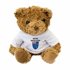 NEW - NEW ZEALAND FLAG - Teddy Bear - Cute And Cuddly - Gift Present Kiwi
