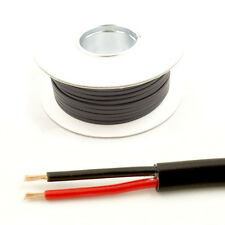 *14 AMP Rated* 0.75mm2 Thin Wall 2 Twin Core Cable Wire Car LED Light (30M Roll)