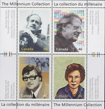 CANADA 2000 Millenium collection #1829 – 12 Great Thinkers