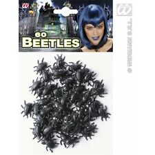 Set of 60 Beetles for Insects Bugs Halloween Decoration