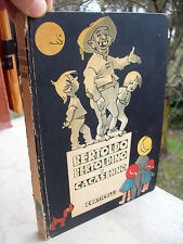 1948 LIBRO PER RAGAZZI ILLUSTRATISSIMO DA ARTURO BONFANTI: BERTOLDO E BERTOLDINO