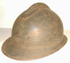 WWII - CASQUE ADRIAN MOD. 26  COQUE POUR REMONTAGE -