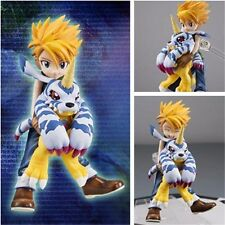 Anime Digimon Adventure Yamato Ishida & Gabumon 1/10 PVC Figure New In Box