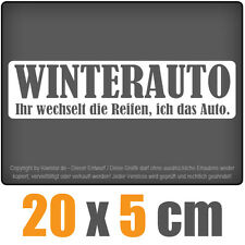 Winterauto csf0087 F10 20 x 5 cm JDM Decal Sticker Aufkleber Racing Die Cut