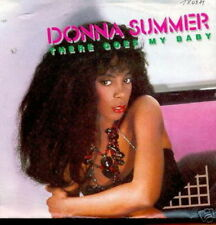 DONNA SUMMER 45 TOURS GERMANY THERE GOES MY BABY