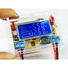 DC-DC Adjustable Step Down Power Supply Push-Button Module Voltmeter LCD Display