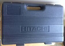 HITACHI DS120VF SLSX 9.6V - 12V CORDLESS DRILL FLASHLIGHT CHARGER CARRYING CASE