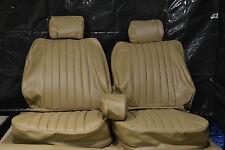Sitzbezüge für die Vordersitze Mercedes SL R/W107, SLC beige ab Bj.85