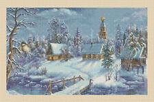 Gráfico de punto de cruz-escena de invierno de Navidad-No.109 TSG37
