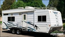 2006 WEEKEND WARRIOR SUPER LITE 28' TOY HAULER RV TRAVEL TRAILER - SLEEPS 8
