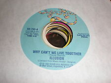Illusion 45 Why Can't We Live Together SUGAR HILL