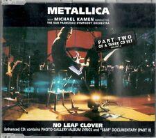 METALLICA - NO LEAF KLOVER - CD SINGOLO 3 TRACKS NUOVO NON SIGILLATO