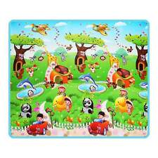 200X180cm Kid Baby Toddler Game Crawl Play Mat Picnic Floor Carpet Waterproof US