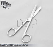 "Dressing Nursing Surgical Scissors 5.5"" Blunt / Blunt Curved OS-006"