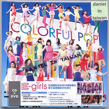 E-Girls: Colorful Pop (2014) Japan / CD & DVD & 64p PHOTOBOOK TAIWAN