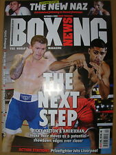 BOXING NEWS 4 OCTOBER 2012 RICKY HATTON & AMIR KHAN