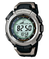 CASIO PROTREK TRIPLE SENSOR TOUGH SOLAR PRG-110-1 WATCH PRG-110-1VDR