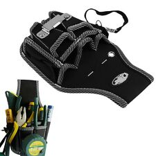 9 in1 Electrician Waist Pocket Tool Belt Pouch Bag Screwdriver Utility Holder TY
