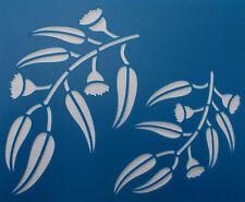 Scrapbooking - STENCILS TEMPLATES MASKS Sheet - Gum Blossom Stencil