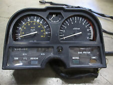 1981 Suzuki GS750 Speedometer Speedo Tach Gauge Indicator Lights GSX E