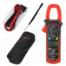 UNI-T UT203 Digital Clamp Multimeter AC DC A V Resistance Frequency Tester B0636