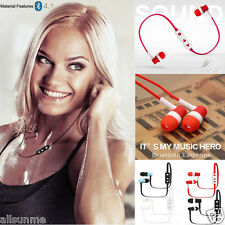Bluetooth 4.1 Wireless Sport Auricolari Cuffie Stereo Cuffie Per Cellulare MP3