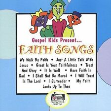 FREE US SH (int'l sh=$0-$3) NEW CD Gospel Kids: Faith Songs
