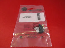 """Neutrik NTP3RC-B, 3.5mm 1/8"""" Stereo Right Angle Plug Gold Contacts."""