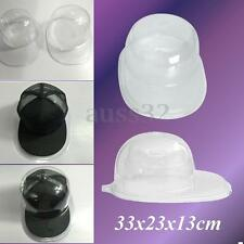 Acrylic Clear Baseball Football Cap Hat Display Case Holder Protector Storage