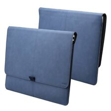 Apple iPad Pro 12.9 Macbook 12/13 Case Sleeve Leather Bag Built in Card Holder