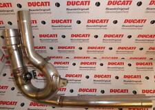 2008 Ducati Desmosedici RR D16RR exhaust pipe center section w/valve 57012681A