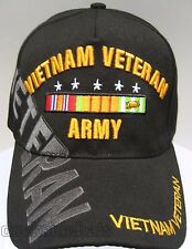 VIETNAM U.S.ARMY VETERAN Veteran Cap/Hat Black,NEW, Military FREE SHIPPING