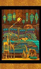 "Princess on a pea_24"" Panel_African dreamer_quilt cotton_Elizabeth's studio_OOP"