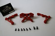TSRC CNC Front shock tower connection set Red fit HPI BAJA RV KM 5B 5T 5SC
