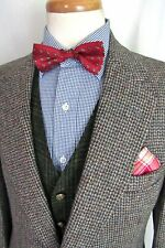 Vtg HARRIS TWEED Wool Blazer ~ 40 R ~ suit jacket / sport coat STAFFORD Hunting