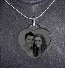 PERSONALIZED STYLIST HEART NECKLACE- SHIP NEXT DAY - GIFT