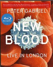 Blu-Ray (NEU!) . PETER GABRIEL - New Blood (Live in London Blue-Ray mkmbh