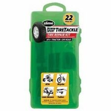 Slime Tire Tackle Repair Kit 22 Piece ATV Tractor UTV Lawnmower Bicycle dirtbike