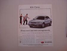 advertising Pubblicità 1997 KIA CLARUS