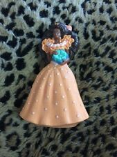 Birthday Surprise Barbie 1992 McDonalds African American Cake Topper Peach Dress