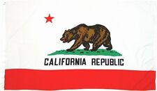 """""""CALIFORNIA"""" State flag 2x3 ft polyester republic 2' x 3' CA"""