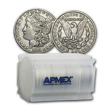 1878-1904 Morgan Silver Dollars VG-VF (20-Count Roll) - SKU #92360